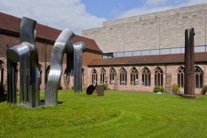 German National Museum, Nuernberg, Courtyard