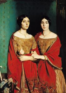 The Two Sisters by Theodore Chasseriau