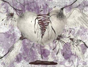 Torn Heart by Silverperfume http://silverperfume.deviantart.com/art/Torn-Heart-34716742