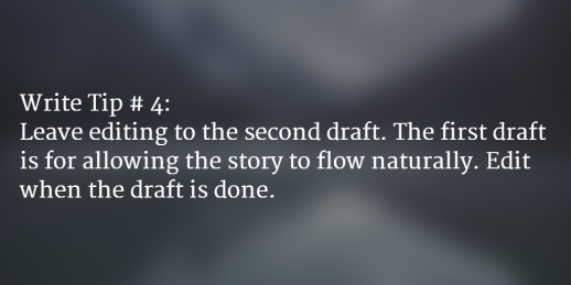 Quick Writing Tip # 4