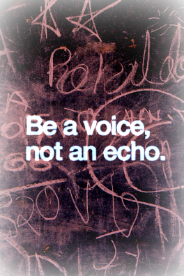 """Be A Voice"""" by Avalon Media http://shrsl.com/?~8sho"