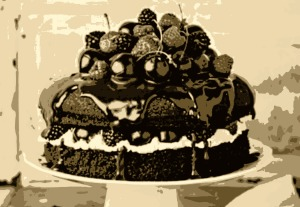 Flash Fiction: Chocolate Cake