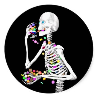 skeleton_eating_halloween_candy_sticker-rfc5632b76bdb41ccae935dcefd92df0f_v9wth_8byvr_325