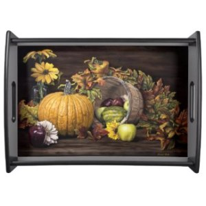 A Touch Of Autumn Serving Tray