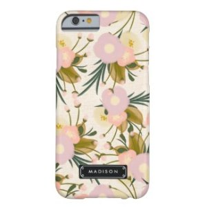 Floral Cell Phone Case - Personalize It!