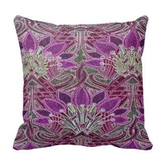 Purple Pattern Pillow