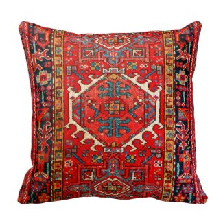 Persian Carpet Pattern Pillow