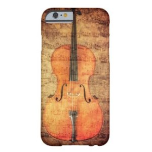 Vintage Cello - Cell Phone Case