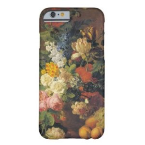 Vintage Floral Still Life - Cell Phone Case