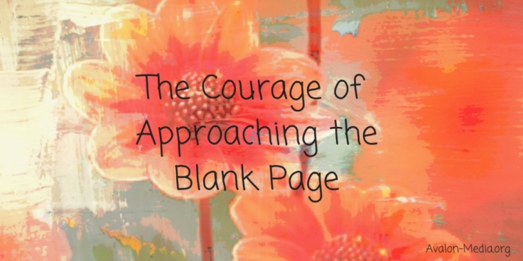 The Courage Of Approaching The Blank Page