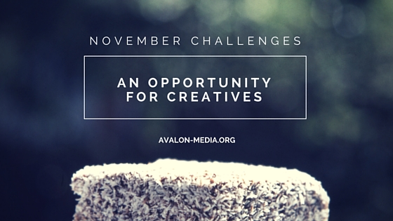 November Challenges - An Opportunity For Creatives
