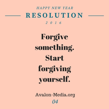 4. Forgive Yourself