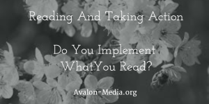 Reading And Taking Action