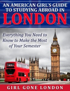 Book Review: Girl Gone London – An American Girl's Guide To Studying Abroad In London