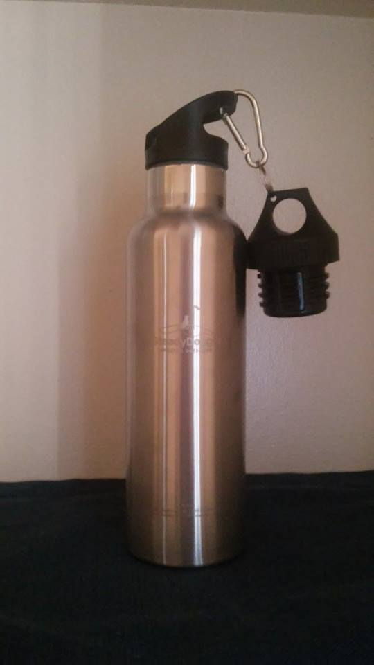 Insulated Stainless Steel Water Bottle from Steady Doggie Sports available on Amazon now!