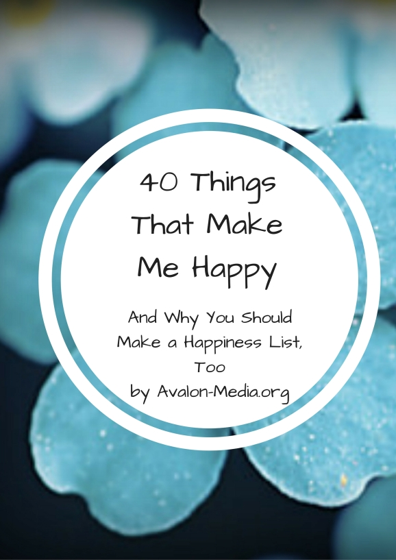 40 Things That Make Me Happy