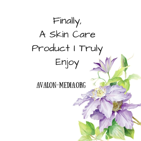 Finally, a Skin CareProduct I TrulyEnjoy