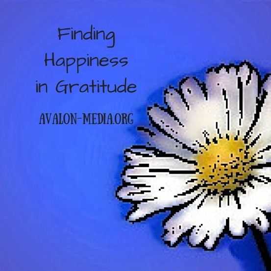 Finding Happinessin Gratitude