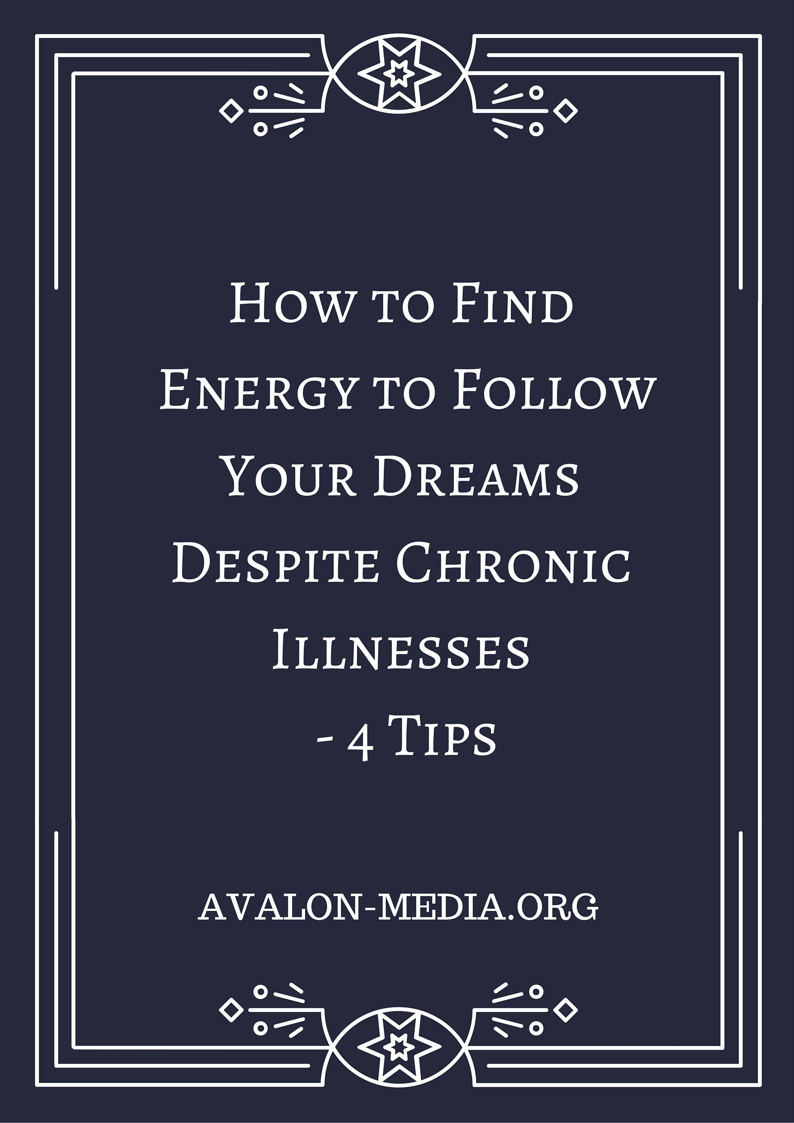 Chronic Illness and Energy