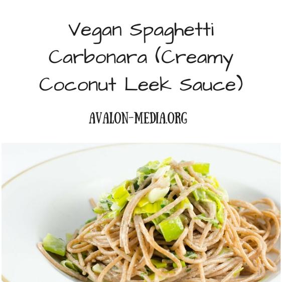 Vegan Spaghetti Carbonara