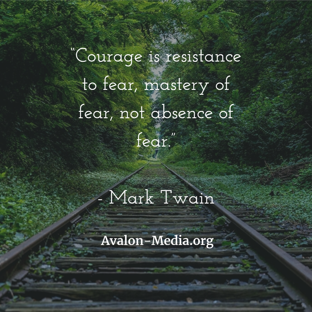 Wordless Wednesdays: Courage