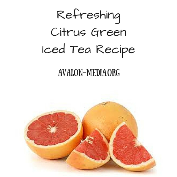 Refreshing Citrus Green Iced Tea