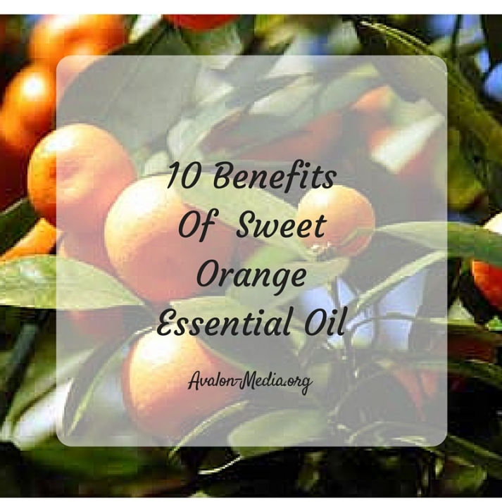 10 Benefits Of Sweet Orange Essential Oil