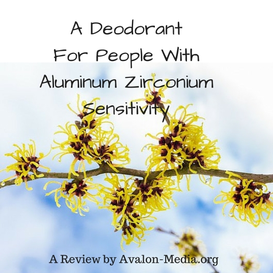 A Deodorant For People With Aluminum Zirconium Sensitivity